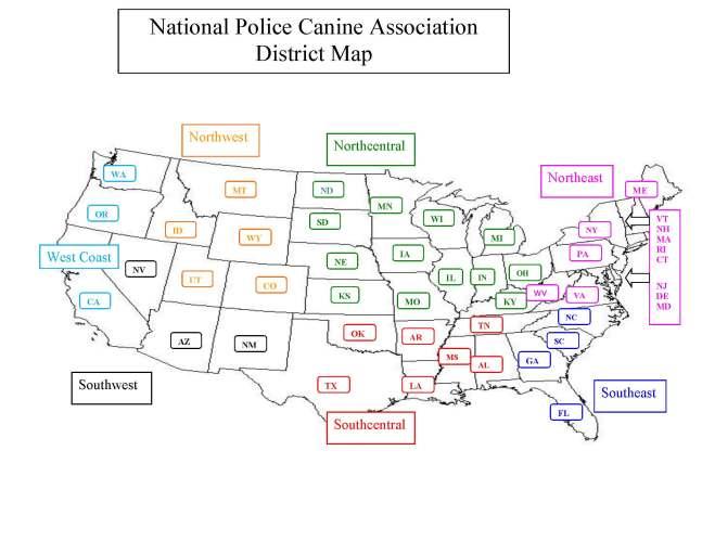 NPCA REGIONAL MAP